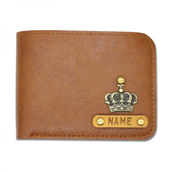 Light Brown Leather Wallet For Men