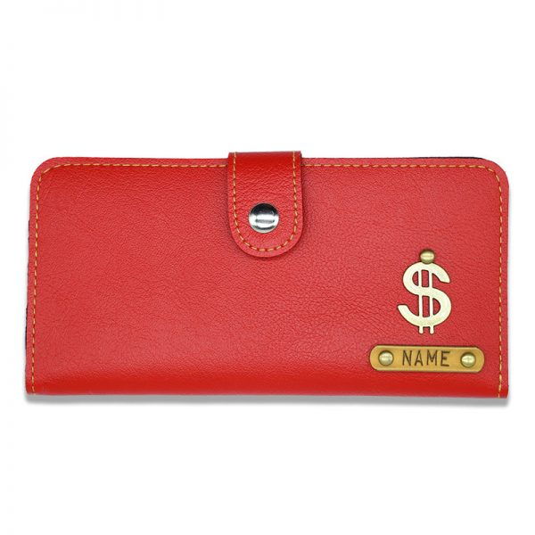 Personalised Custom Red Clutches For Women